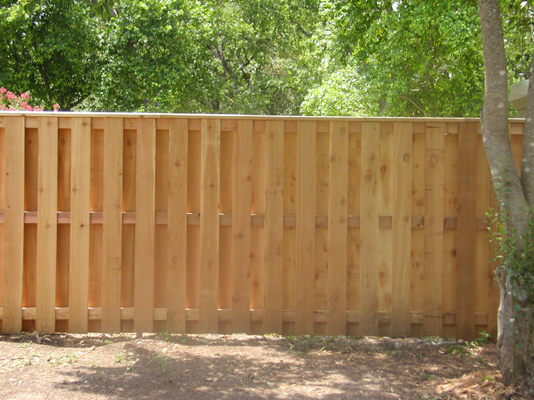 Fences london fence and deck ontario for Unique privacy fence designs
